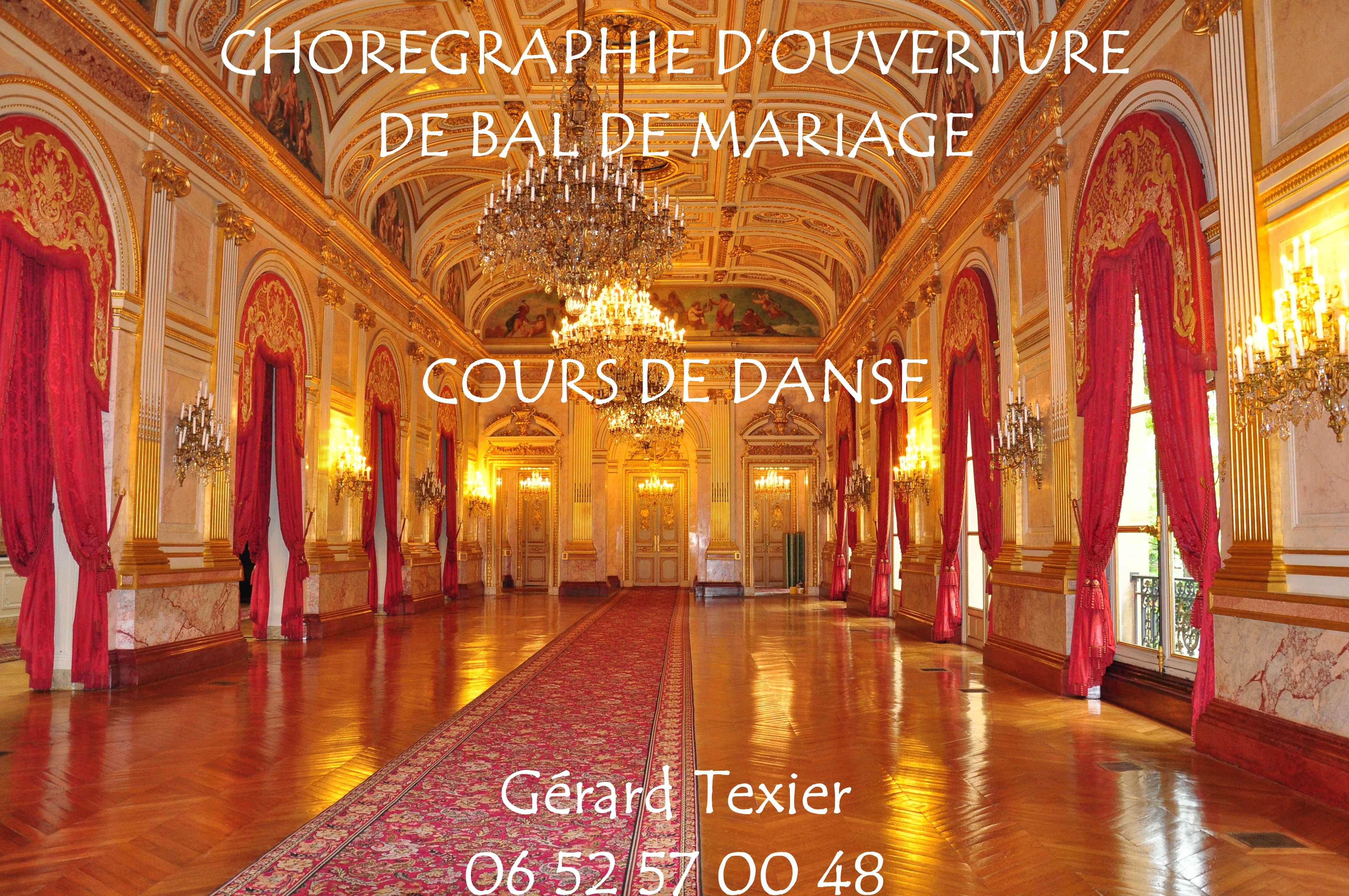 ouverture bal mariage cours danses - Valse Pour Ouverture De Bal Mariage